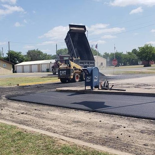 A Picture of Asphalt Overlay Service.