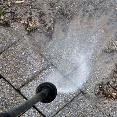 A Picture of Outdoor Pressure Washing.