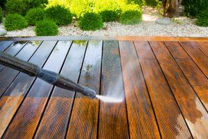Pressure Wash Wood